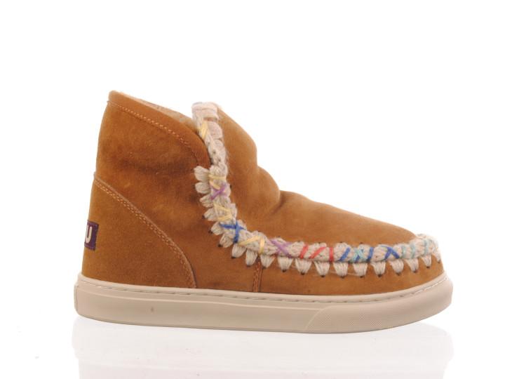 kaki damessandaal met espadrille sneakerzool Maury