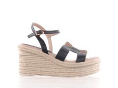 halfhoge sneaker van Paul Smith in naturel leder met een off-white cupsole en een beige vetersluiting