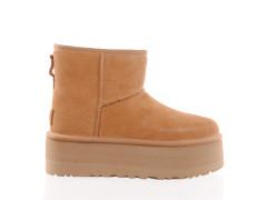 suede blauw bruine heren sneaker Floris Van Bommel