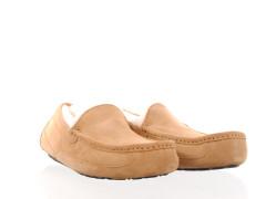 sneaker van Diesel in off-white met een cream cupsole en vetersluiting