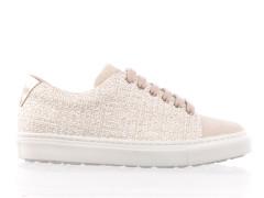 pantoffels van Paul Smith van donkerblauwe suède