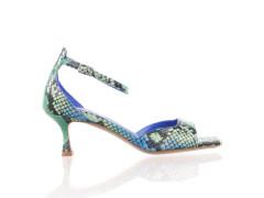 Halfhoge sneaker van Floris van Bommel in taupe/bruine suède met een bruine rubberen cupsole