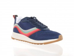 Paul Smith blauwe swearl dames sneaker.
